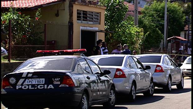 Refém é morto em ação da Polícia Civil de Gravataí no RS (Foto: Reprodução/RBS TV)