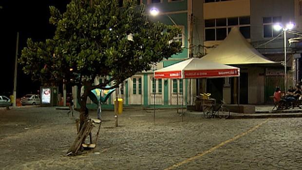 largo vazio dinha rio vermelho (Foto: Imagens/TV Bahia)