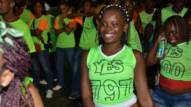 Cordeira no carnaval (Foto: Eduardo Freire)