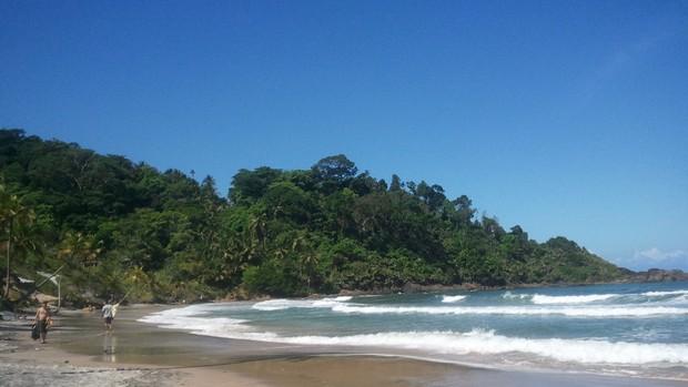 Itacaré: Praia da Engenhoca (Foto: Ida Sandes/ G1BA)