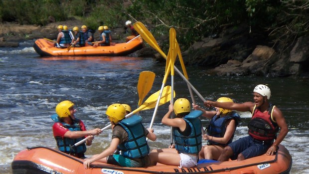 Itacaré: Rafting (Foto: Nuno Borges/ Secretaria de Turismo de Itacaré)