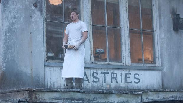 Vivido por Josh Hutcherson, o personagem Peeta Mellark é o filho do padeiro do Distrito 12, onde vive a protagonista. Durante a história, eles ficam bastante próximos. *jogos vorazes (Foto: Divulgação)