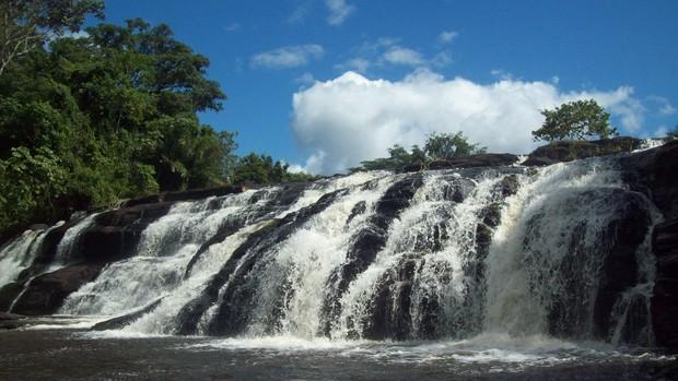 Itacaré: Cachoeira da Usina (Foto: Brenda Coelho/ G1)