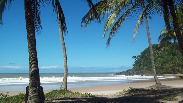 Itacaré: Prainha (Foto: Brenda Coelho/ G1BA)