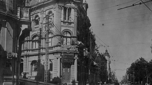 Rua dos Andradas (Foto: ACERVO DO MUSEU JOAQUIM JOSÉ FELIZARDO  FOTOTECA SIOMA BREITMAN)