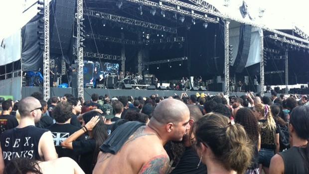 Exciter - Metal Open Air (Foto: Cauê Muraro/G1)