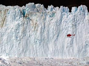 Groenlândia perdeu 1,5 mil gigatoneladas de gelo entre 2000 e 2008, calcula estudo (Foto: cortesia Steve Morgan)