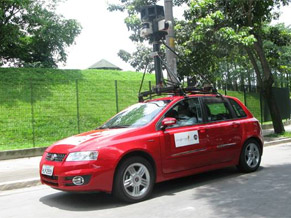 Carro Google Street View