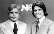 Cid Moreira e Sérgio Chapelin