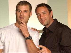 Matt Stone e Trey Parker, os criadores de 'South Park'
