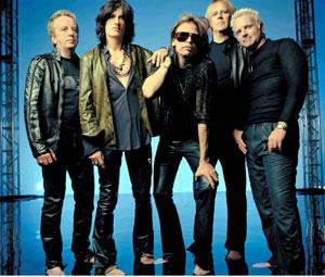 O quinteto norte-americano Aerosmith