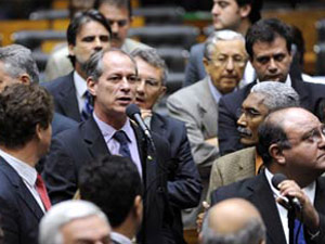 O deputado Ciro Gomes (PSB-CE)  nesta quinta-feira (15)