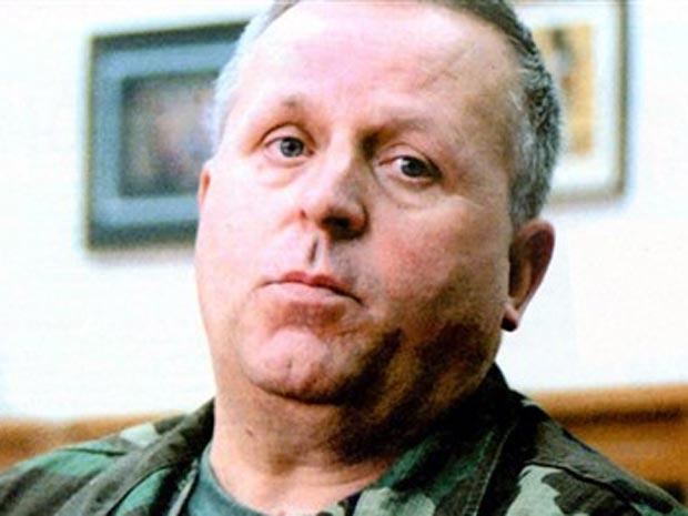 O ex-comandante do Exército bósnio-muçulmano Rasim Delic em foto não datada.