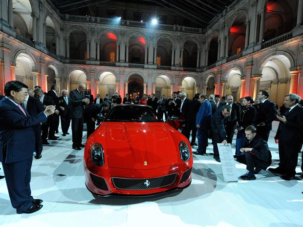 Apresentação da Ferrari 599 GTO