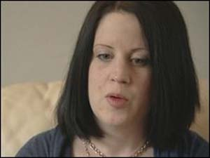 Rebecca White, mãe do garoto.