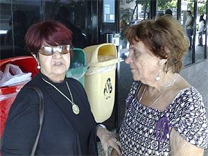 Terezinha e Fortuné Papoula: amigas à espera de notícias