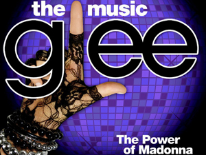 Imagem do CD 'Glee: The Power of Madonna'