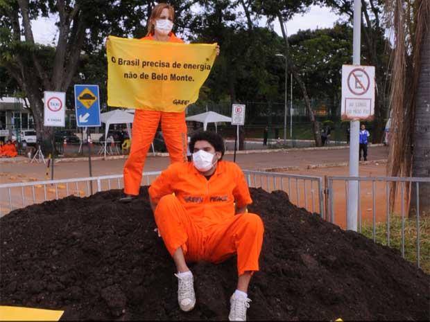 Protesto Belo Monte Aneel
