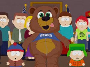 O profete Maomé aparece fantasiadod e urso em episódio de 'South Park'.