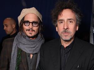 Jhonny Depp e Tim Burton