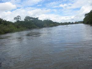 Vazão do Rio Xingu cai muito em época de seca