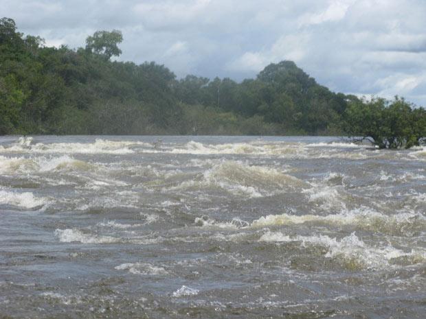Rio Xingu, no Pará, onde será construída hidrelétrica de Belo  Monte
