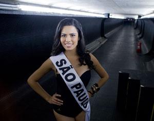 Candidata Miss São Paulo