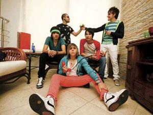 A banda de pop rock Cine