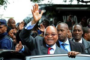 Zuma campanha aids