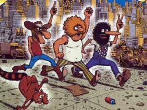 Os Freak Brothers, personagens mais famosos de Gilbert Shelton