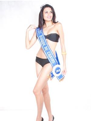 Miss Rio é a estudante de Direito, Thamiris Ribeiro