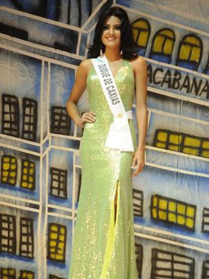 A estudante Thamiris Ribeiro foi eleita a Miss Rio de Janeiro  2010