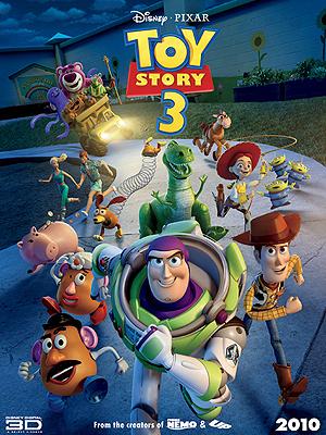 Novo cartaz de 'Toy Story 3', com personagens inéditos na série.