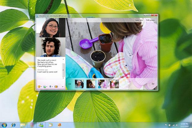 Windows Live Messenger permitirá videochat em alta resolução.