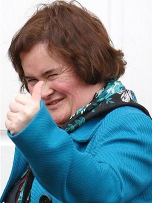 A cantora Susan Boyle