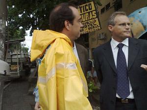 Beltrame e Carlos Osório