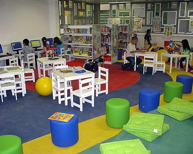 A biblioteca high-tech em Manguinhos terá 40 computadores e 25 mil livros