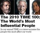 Lula é eleito um dos 25 líderes mais influentes (Reprodução/Revista Time)