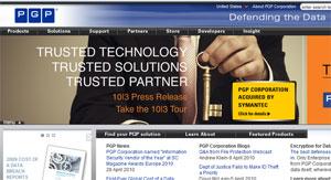 PGP já pertenceu à McAfee, principal concorrente da Symantec.
