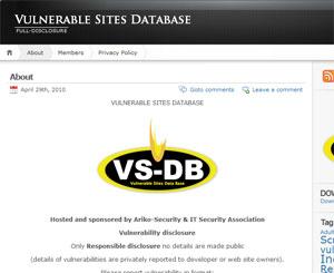 """No cabeçalho, site estampa o termo """"full disclosure"""". Na página, promete apenas praticar """"responsible disclosure""""."""