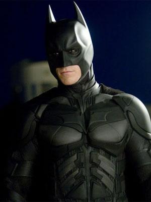 Christian Bale como o Batman da franquia de Christopher Nolan