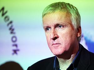 O diretor James Cameron, que auxilia a Nasa no desenvolvimento de câmera espacial 3D.