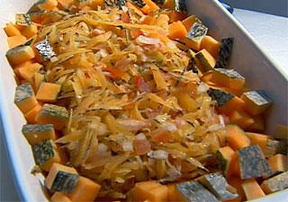 grep salada de casca de abóbora matéria