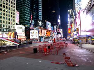 Quadras da Times Square foram evacuadas