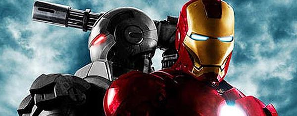 Detalhe de cartaz de 'Homem de Ferro 2': mais de US$ 100 mi faturados no mundo.