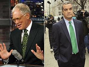 Halderman e Letterman: extorsão driblada com confissão pública.
