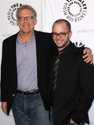 Os produtores de 'Lost', Carlton Cuse e Damon Lindelof
