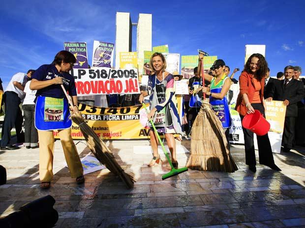 Manifestação - Ficha Limpa