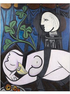 'Nu au plateau de sculpteur', tela de Pablo Picasso