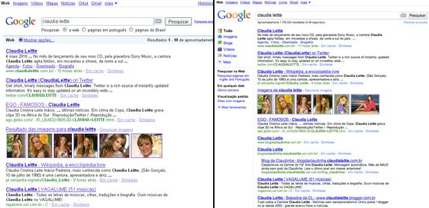 Google muda para organizar as buscas dos usuários. Barra lateral é a novidade.